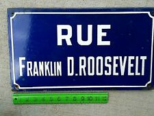 sign Wwii France Franklin Roosevelt