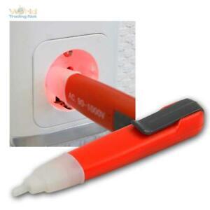 Stromprüfer / Spannungsprüfer 90-1000V in Stiftform mit Signalton Strom Tester