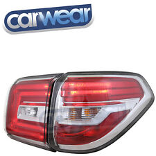 DEPO-LED CLEAR RED TAIL LIGHT SUITS NISSAN PATROL Ti Ti-L 13-16