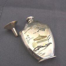 schöner Flakon ca.50er Jahre Silber 950/- Japan signiert
