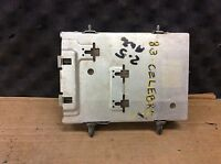 83 CENTURY ENGINE COMPUTER MODULE ECM ELEC CONT UNIT ECU 1983 GM 1.8/2.5 3925