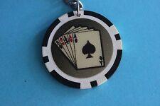 Casino Chip  Keyring Keychain