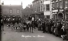 Shipston on Stour. Fox Hounds by Butt, Bourton.