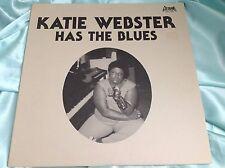 Scarce Blues LP : Katie Webster Has The Blues ~ Goldband GRLP 7780
