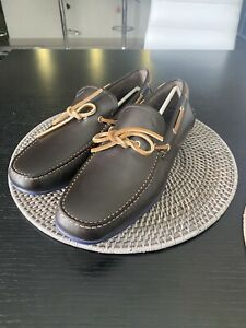 Size 10 - Salvatore Ferragamo Mens Brown