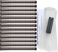 Winn Excel Soft Black Standard Golf Grip Kit (13 Grips, Tape, Clamp)