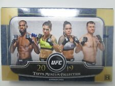 2019 TOPPS UFC MUSEUM COLLECTION HOBBY SEALED BOX!