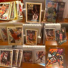 MICHAEL JORDAN Basketball & Baseball card lot Skybox Hoops Topps Fleer UpperDeck