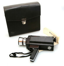 Bell & Howell Model 492 Autoload Super 8 Movie Camera w/ Case