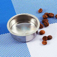 Stainless steel Coffee 2 Cup Non Pressurized Filter Basket Strainer For GUSTINO