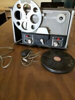 Sears Silvertone 5232 Reel to Reel Tape Recorder with Mic & The Barber Shop 1933