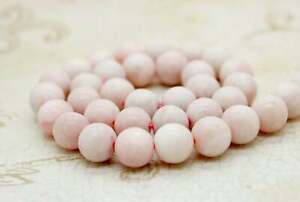 Pink Opal Round Ball Sphere Natural Loose Gemstone Beads - PG145