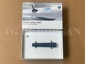 BMW Genuine E88 E46 Z3 Z4 SHORT Rod Sport Antenna Mast, 83 mm NEW