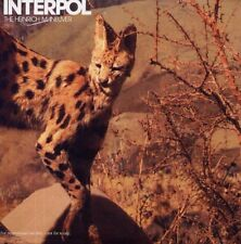 INTERPOL - THE HEINRICH MANEUVER - CD single cardsleeve promo monotitre 2007