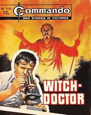 Commando For Action & Adventure Comic Book Magazine #1439 WITCH - DOCTOR