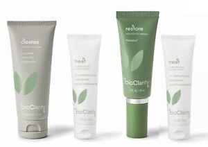 Bioclarity Acne 4-Piece Acne Skincare Treatment System 30 Day 3-step Mini Kit