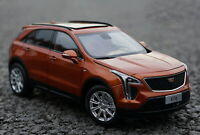 1/18 Scale CADILLAC XT4 SUV Brown Diecast Car Model Collection Toy Gift
