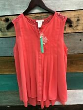 *NEW* Esley Tank Top Pink Women's Size S Small