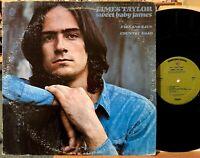 James Taylor Sweet Baby James Vinyl LP Warner Bros 1843 Fire & Rain Country Road