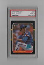 New listing 1987 Donruss Greg Maddux #36 PSA Mint 9 Graded Baseball Card