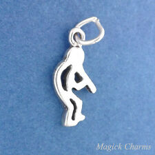 .925 Sterling Silver KOKOPELLI Native American Miniature Charm - elp1726