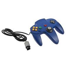 Game Controller Joystick for Nintendo 64 N64 System Deep Blue Pad Mario Kart LN