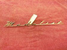 1956 Mercury Medalist Front Fender Nameplate, NOS BU-16098-A
