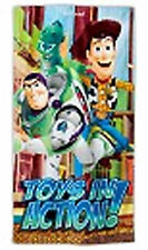 "Disney Store Toy Story Buzz Woody Beach Towel 30"" x 60"" NEW"