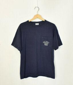 Vintage West Coast Choppers Navy Double Print T Shirt Large