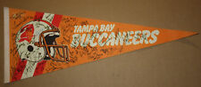 Vintage Tampa Bay Buccaneers 30x12 Pennant with 30+ Auto