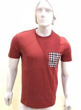 Louis Vuitton Men's Casual One Pocket T-shirt Short Sleeves Cotton Silk ,Size S