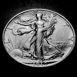 1919-S Walking Liberty Half  *Nice AU *