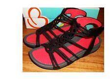 NWB Womens Black BARETRAPS DELLY Wedge Sandals Sz 7M ***FREESHIPPING***