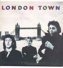 "WINGS (PAUL MCCARTNEY) - LONDON TOWN - 12"" VINYL LP (with poster)"