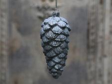 Chic Antique Zapfen kugel m.Eiszucker ant. verte Weihnachten vintage und shabby