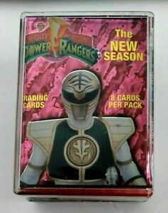 Power Rangers The New Season Trading Cards Complete Set 1-72