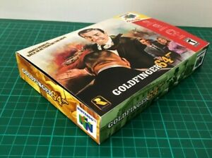 Goldfinger 64 for Nintendo N64 Game Box