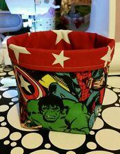 MARVEL Super Hero / RED STAR TESSUTO Bits & Bobs Storage Cesto BOX RAGAZZI REGALO DI NATALE