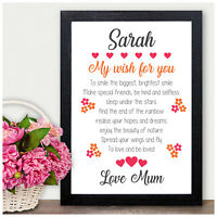 PERSONALISED Gifts for Girls Her Daughter Niece Best Friends Birthday Presents