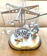 Solar Power Plane Ride Design By Ishiguro With Original Box Collector's Item
