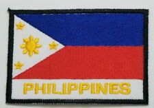 """PHILIPPINES EMBLEM PATCH SEW ON EASY TO USE 2""""x3"""""""