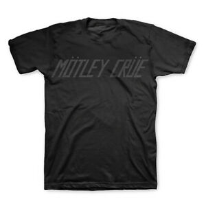 MOTLEY CRUE T-Shirt Logo SILVER GLITTER Too Fast For Love New Authentic S-2XL