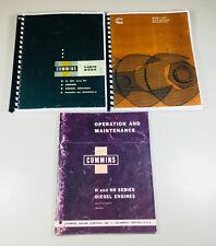 Cummins Nh Service Manual Set Repair Owners Operator Parts Catalog Book Overhaul