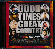 Good Times Great Country CD NEW 2-disc Alabama  McClymonts