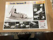 "Dragon Models 1/6 Scale 12"" WWII Soviet Aerosan Rf-8/Gaz-98 Model KIT #75044"