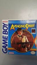 Avenging Spirit (Nintendo Game Boy) CIB  complete in box with inst MINT MINT
