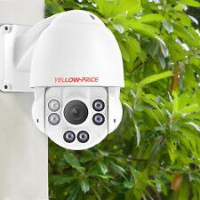 360 Dome PTZ Camera 1080P Pan/ Tilt / Zoom In & outdoor IP Security Surveillance