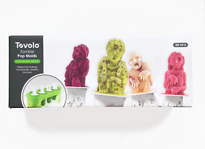 Tovolo *Zombie* Silicone Pop Molds Set of 4 OPEN BOX / Never Used