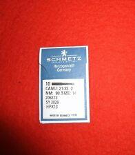 Schmetz-Flachkolbennadel 206x13, Nm 80, Nm90