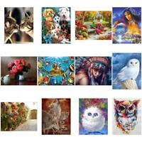5D DIY Full Drill Diamond Painting Animal Cross Stitch Embroidery Mosaic 20